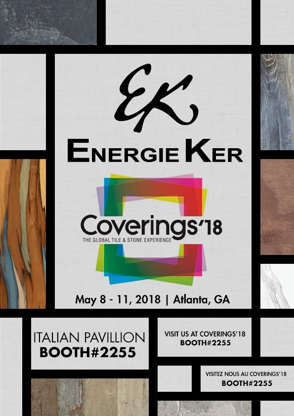 EnergieKer AT COVERINGS 2018!